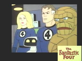 1978 Fantastic Four Cartoon