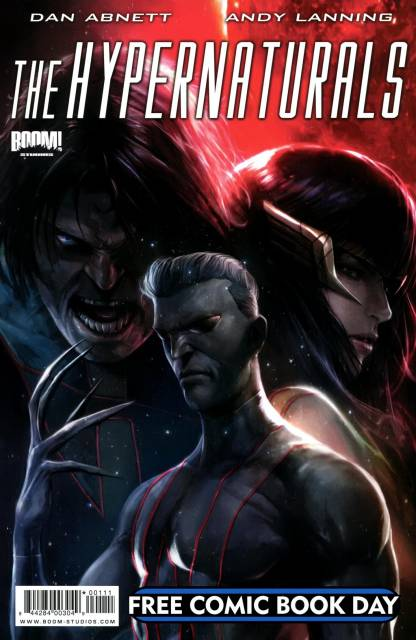 Hypernaturals Free Comic Book Day Edition