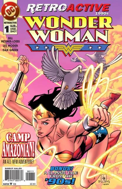 DC Retroactive: Wonder Woman - The '90s