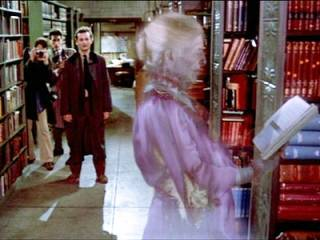 The Graylady from the Ghostbusters
