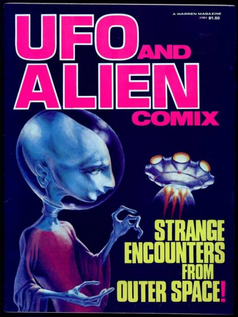 UFO And Alien Comix