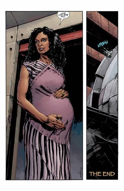 Pregnant Zoe
