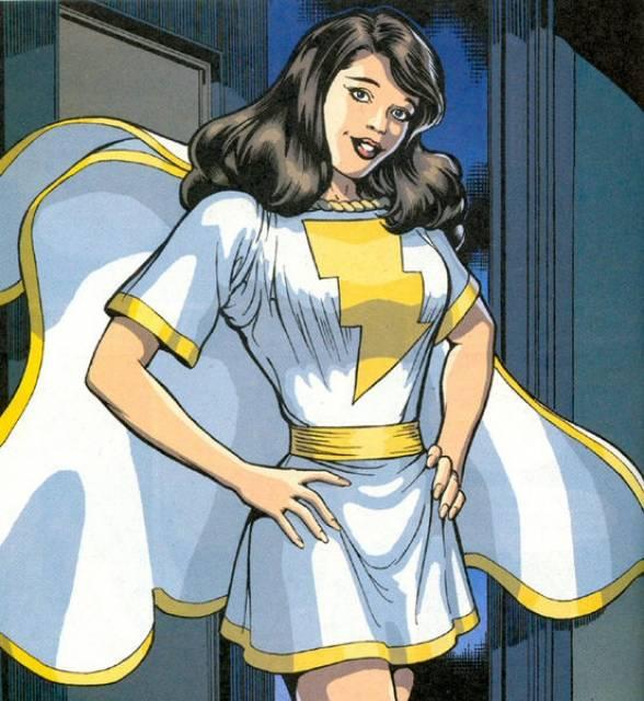 Mary Marvel Mary Batson (New Earth)