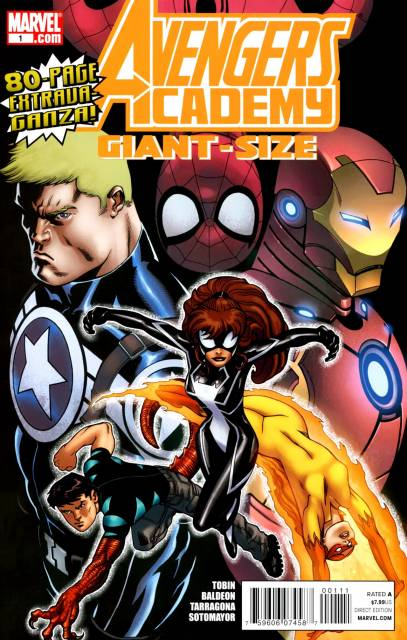 Avengers Academy Giant-Size
