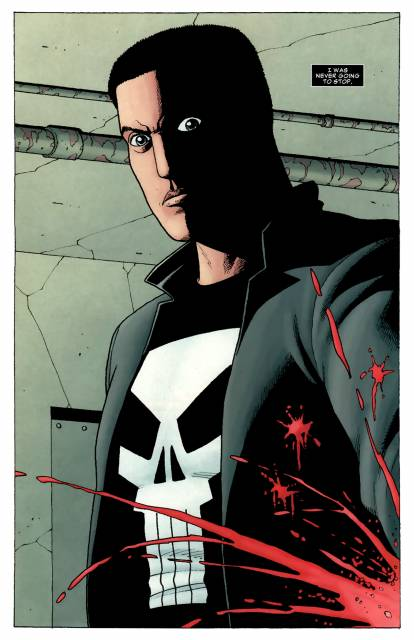 Frank becomes the Punisher