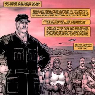 General Kriegkopf and his mercenaries
