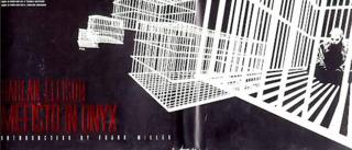 Frank Miller's cover for Mefisto In Onyx