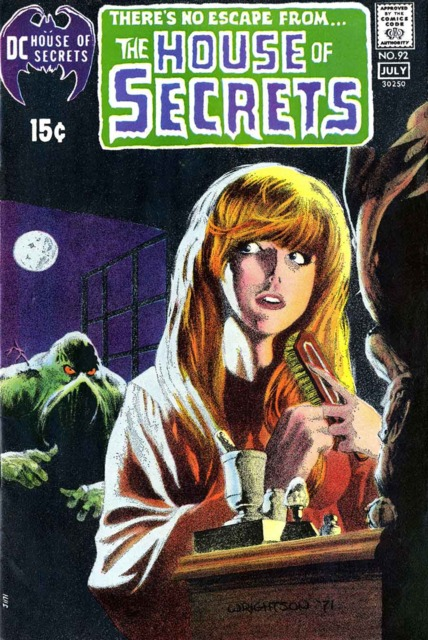 The cover model for this issue was Louise Jones, (later Simonson.)