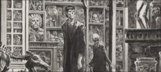 Interior page from Frankenstein Alive, Alive #1. 2012