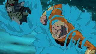 Aquaman and Lagoon Boy