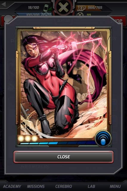 Alternate future evil Psylocke/Red Queen
