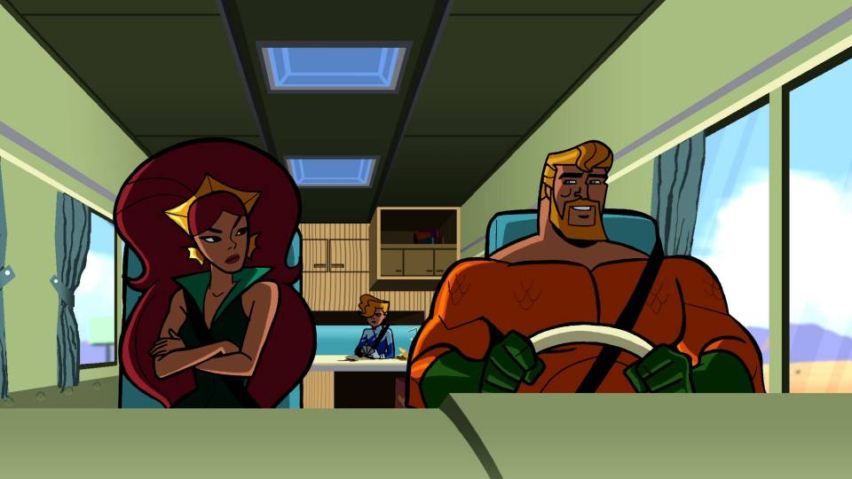 Aquaman and his family in The Brave and the Bold