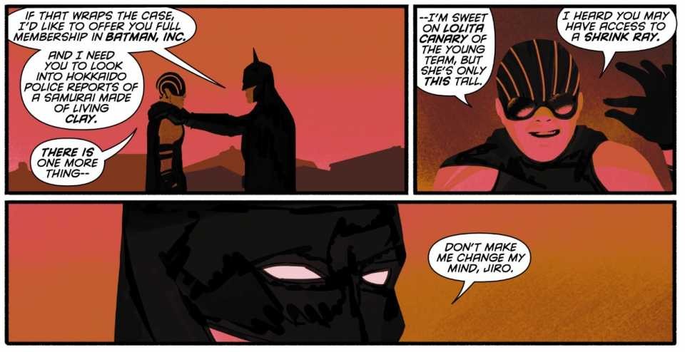 BATMAN INCORPORATED #0