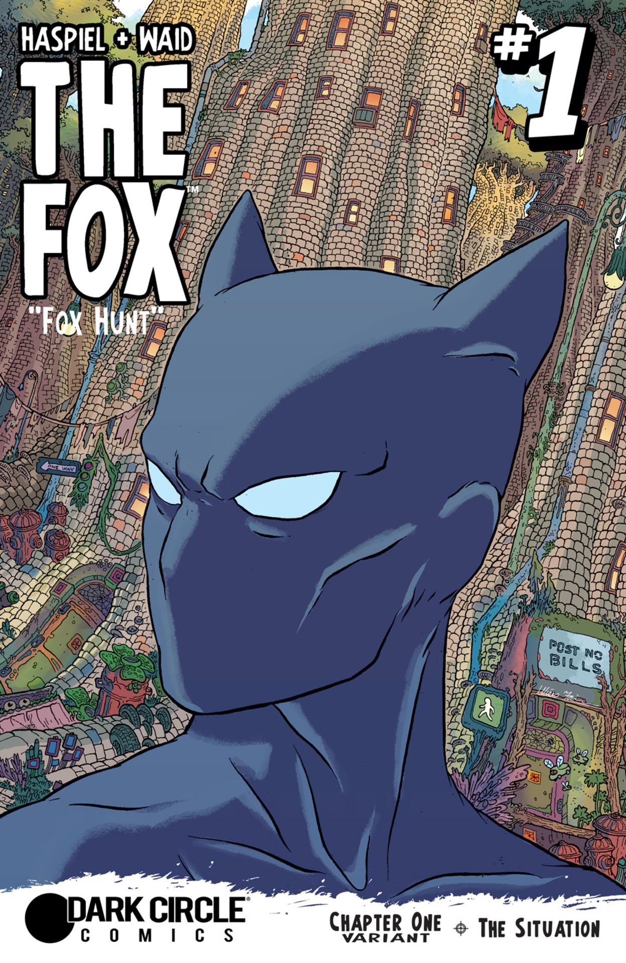 Cover by Ulises Farinas and Ryan Hill