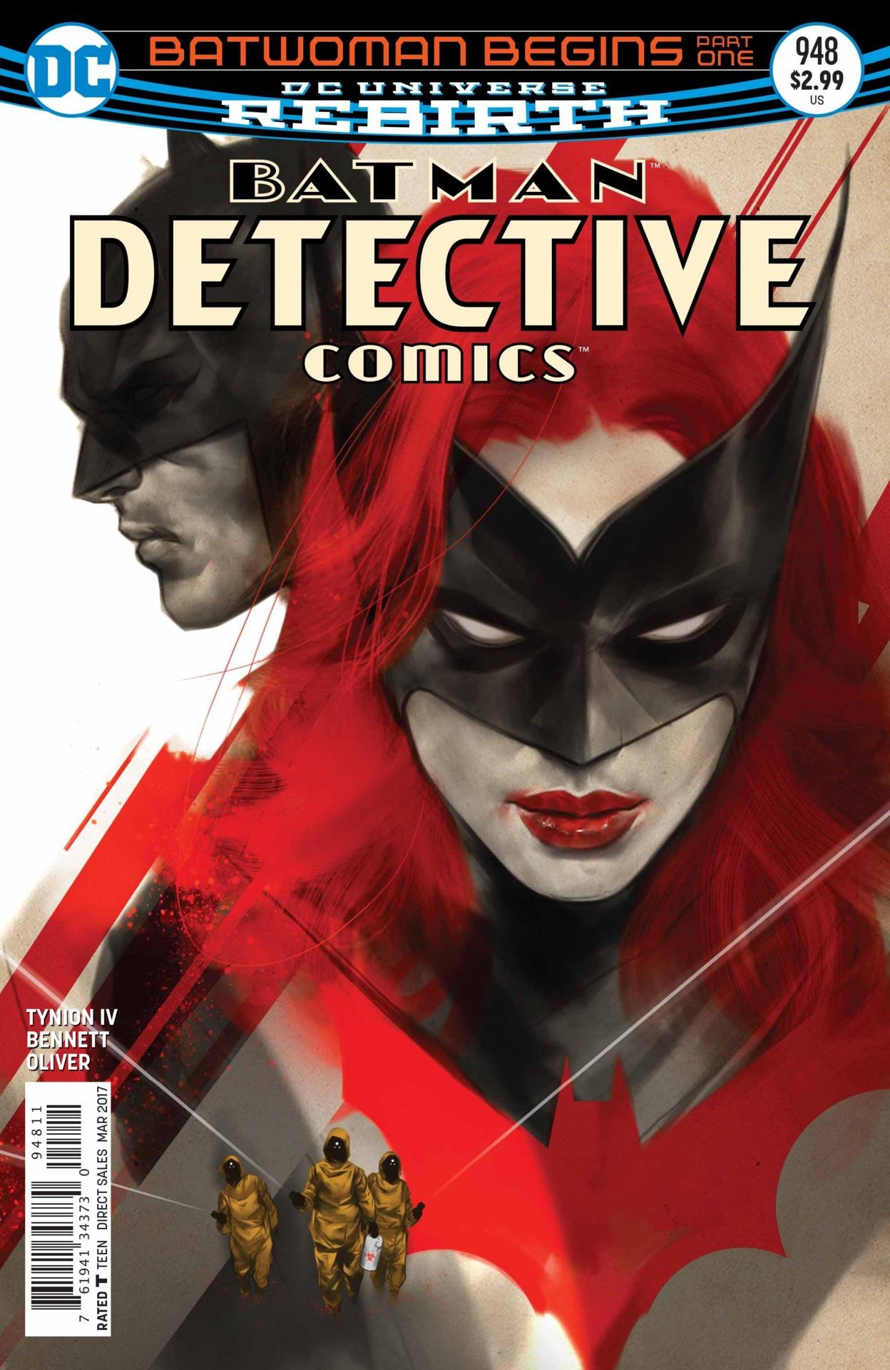 Detective Comics #948 by Ben Oliver