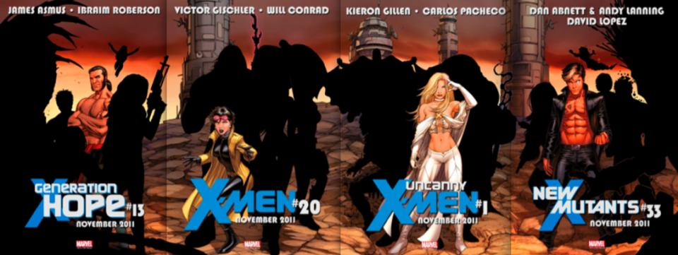 X-Men teasers