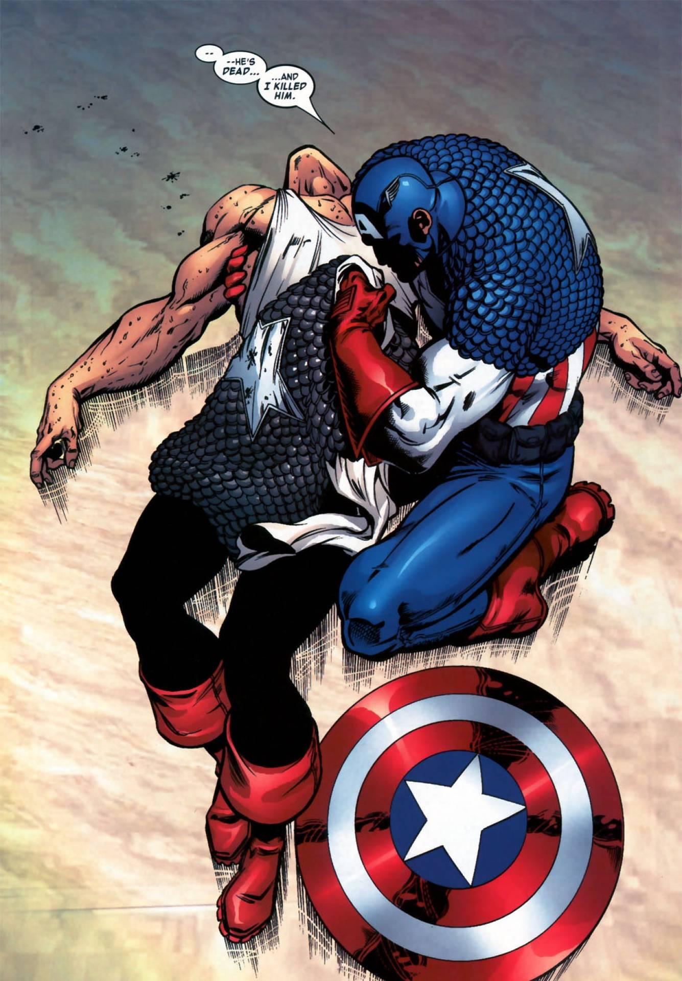 Anti-Cap's apparent death.