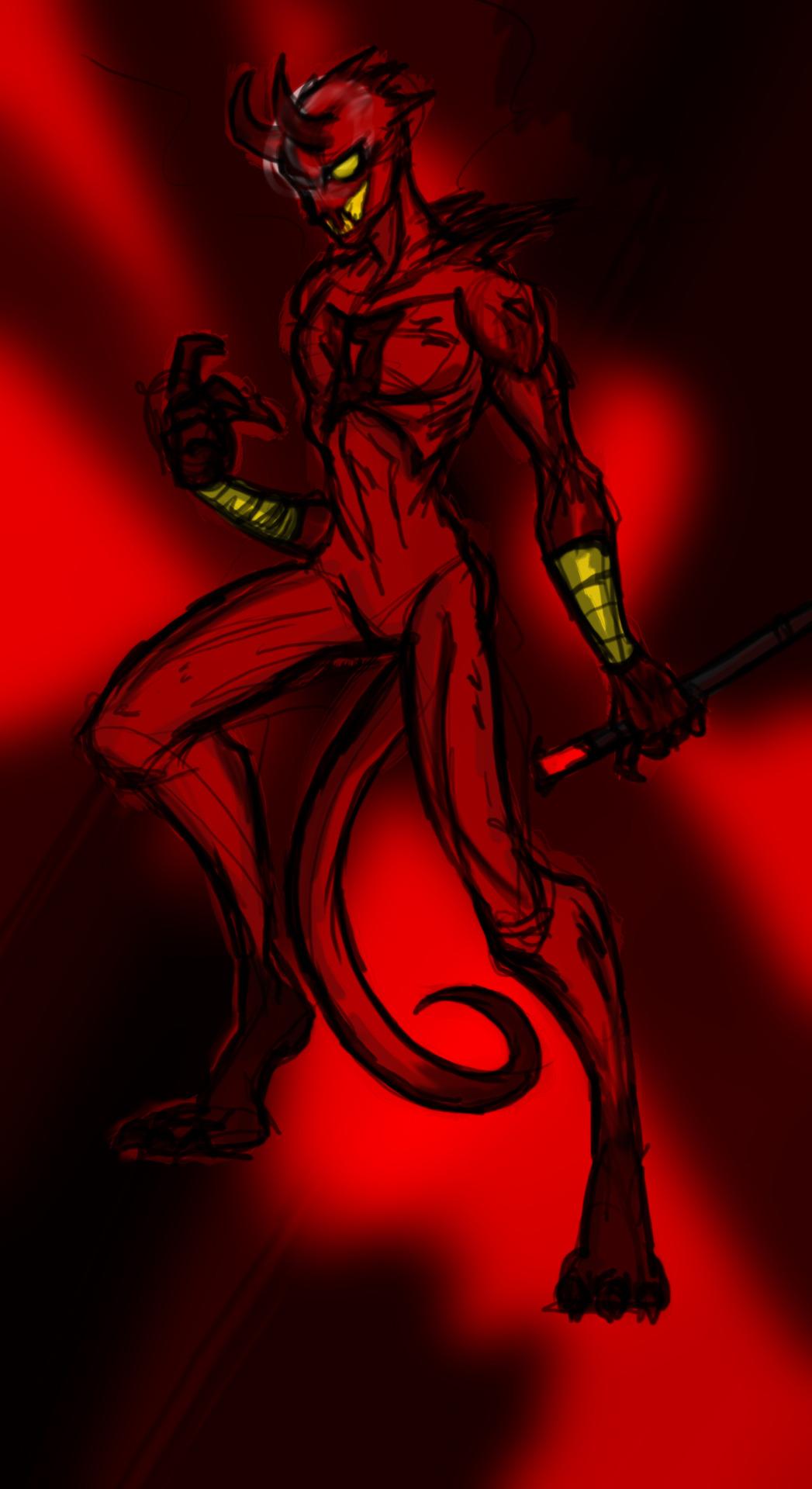 Daredevil + Blackheart
