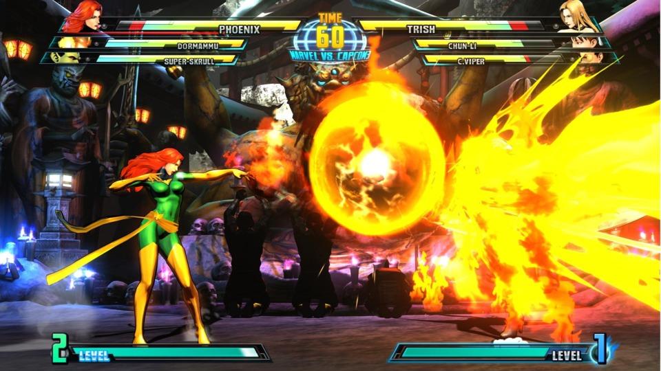 Jean in Marvel vs. Capcom 3