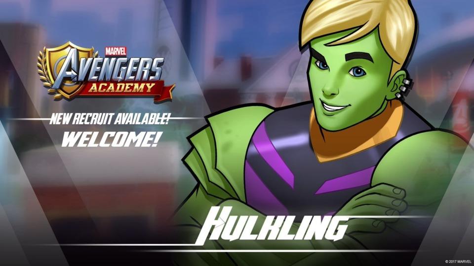 Hulking in Avengers Academy