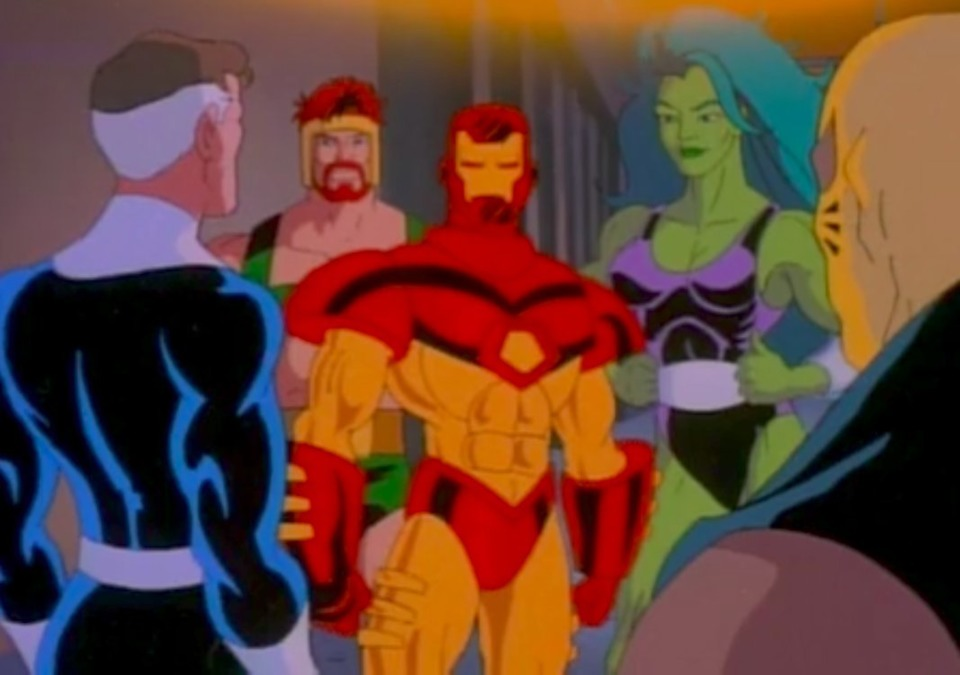 Hercules with the Avengers