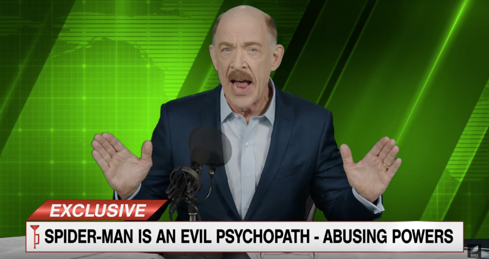J.K. Simmons reprising his role