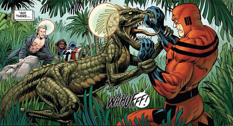 Avengers vs X-Men #4 - Savage Land battle