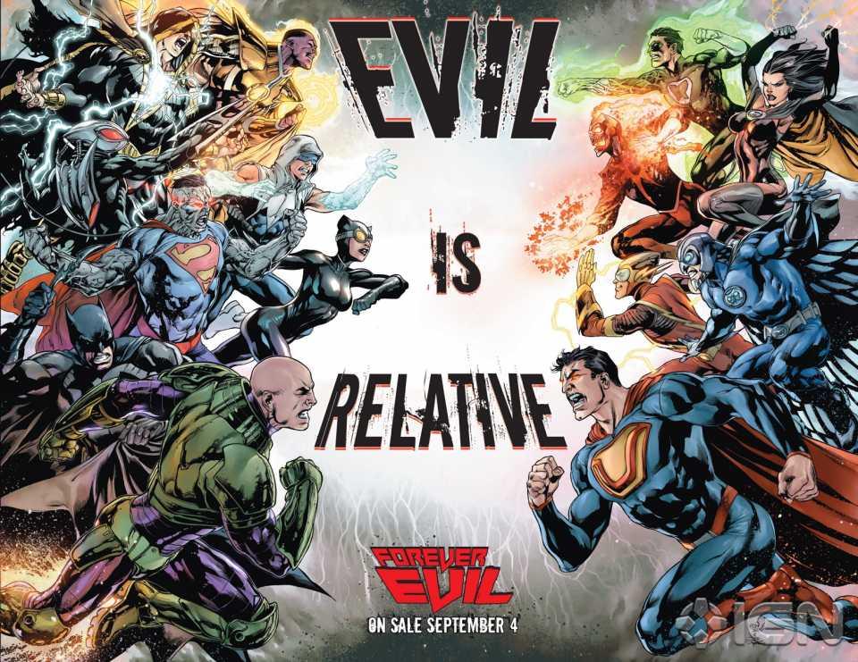 Forever Evil Poster by Ivan Reis