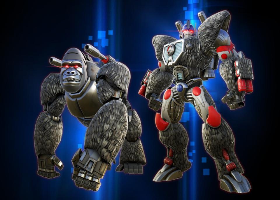 Beast Wars model