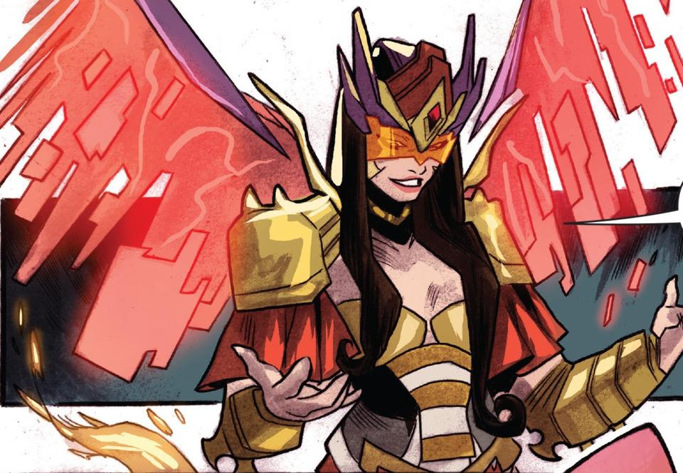 Scorpina as a Power Ranger