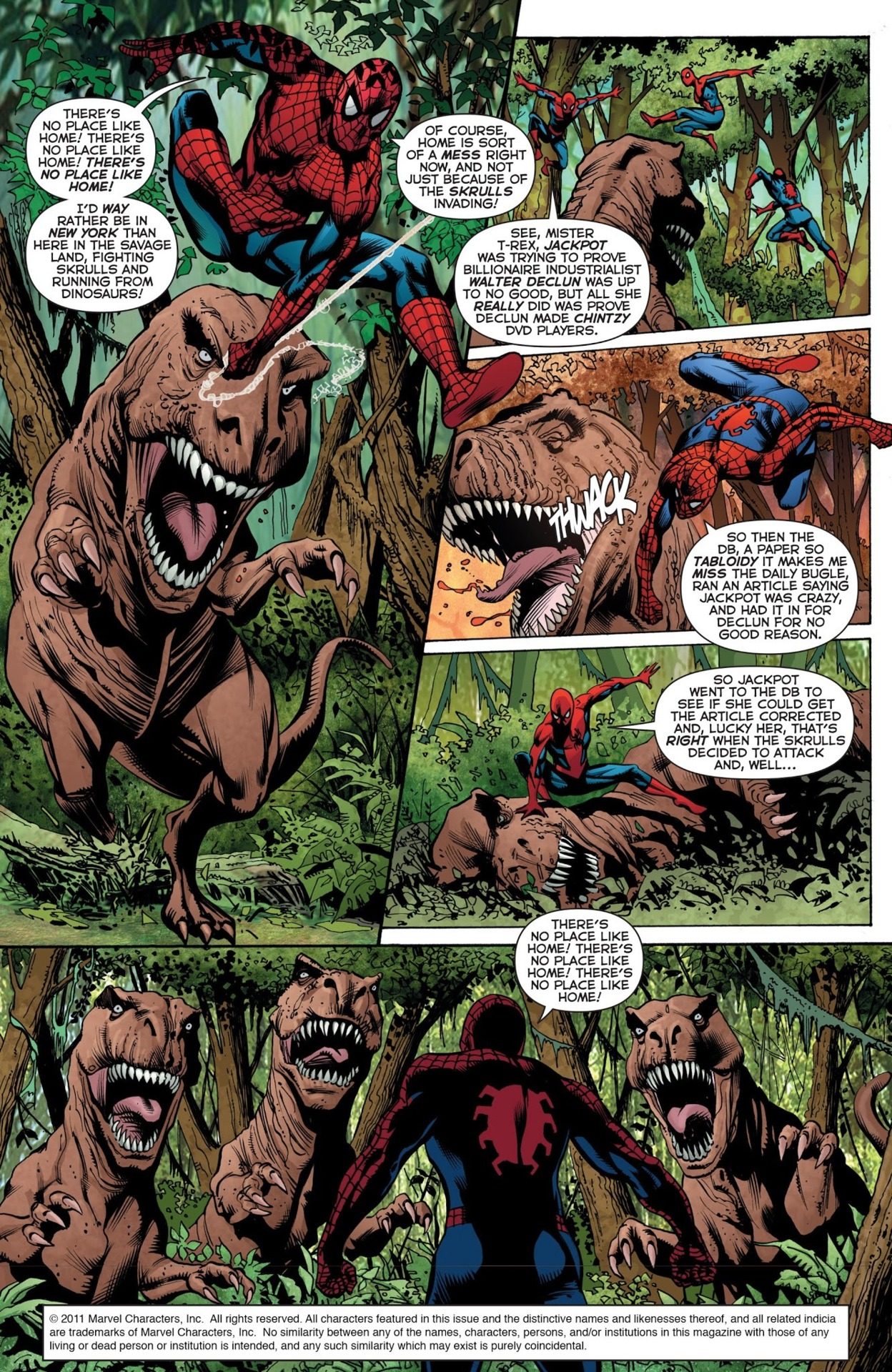 Secret Invasion: The Amazing Spider-Man #2