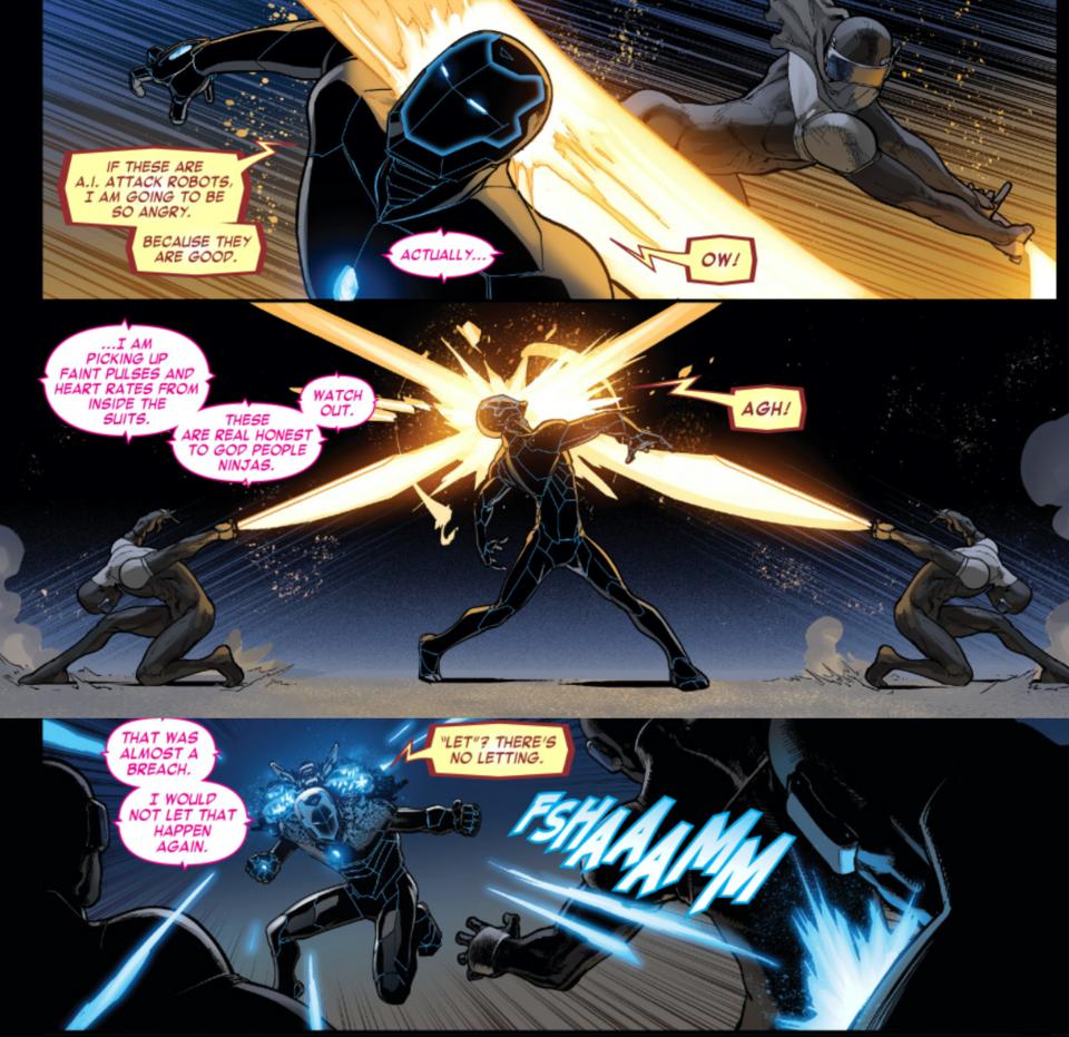 Invincible Iron Man Vol. 2 #4