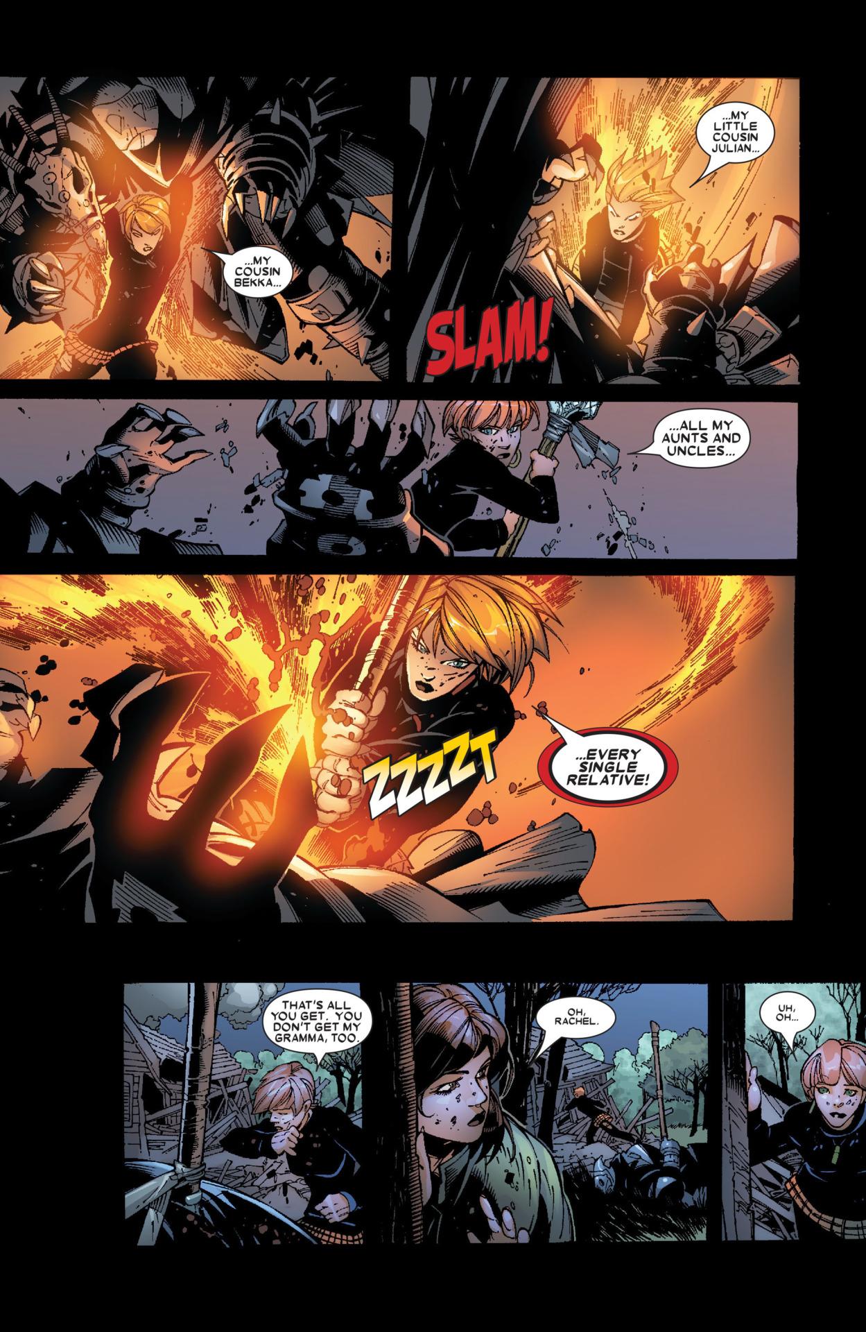 KO's Black Cloak, a Death Commando strong enough to over power Gladiator Uncanny X-Men v1 468