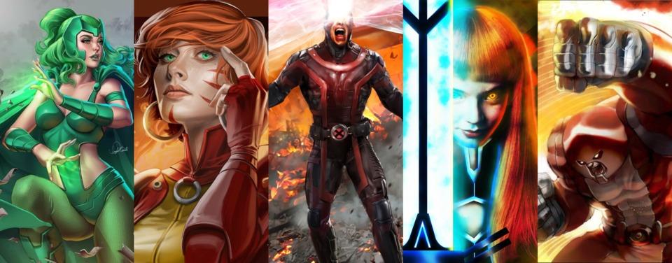 Polaris / Rachel Summers / Cyclops / Magik / Colossonaut