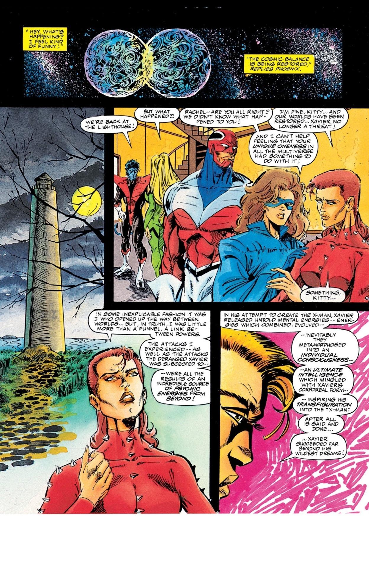 Rachel is considered unique in the multiverse even among Phoenix Host. - Excalibur: XX Crossing