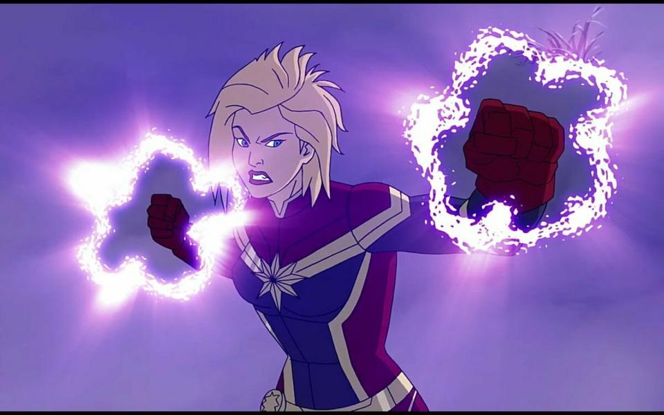 Avengers Assemble Captain Marvel
