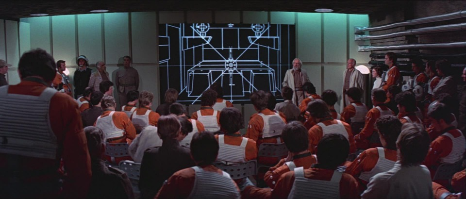 The Rebel Alliance plots to destroy the Death Star.