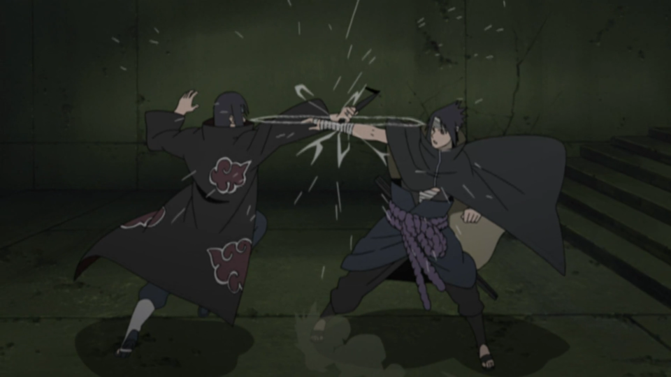 Fated clash of brothers.