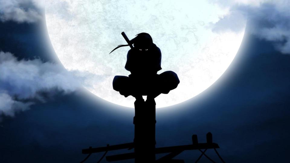 Itachi the night of the massacre.