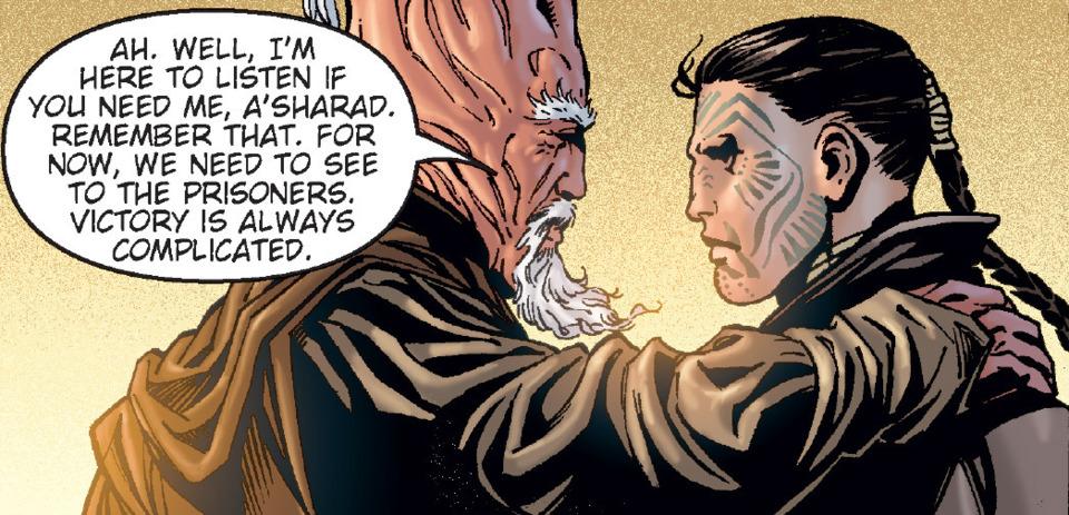 Hett with his former Master, Ki-Adi-Mundi.