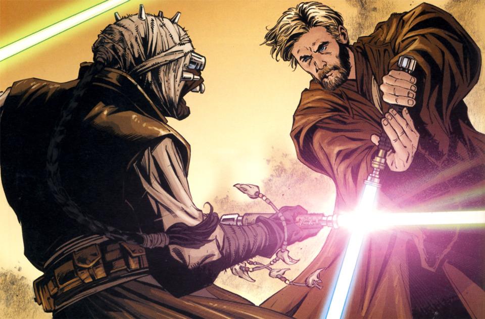 The duel on Tatooine.