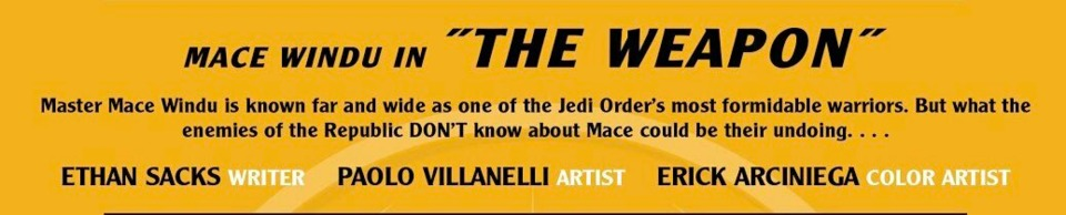 Star Wars: Age of the Republic Special - The Weapon