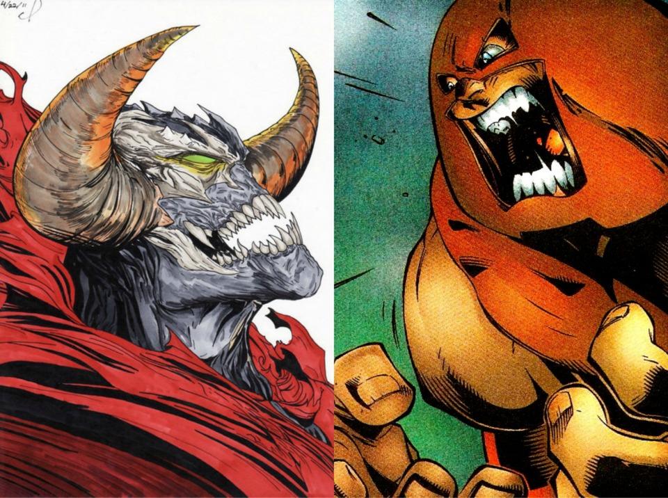 Omega Spawn vs Trion Juggernaut