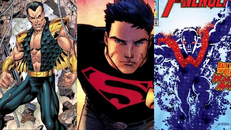 NAMOR, SUPERBOY AND WONDER MAN