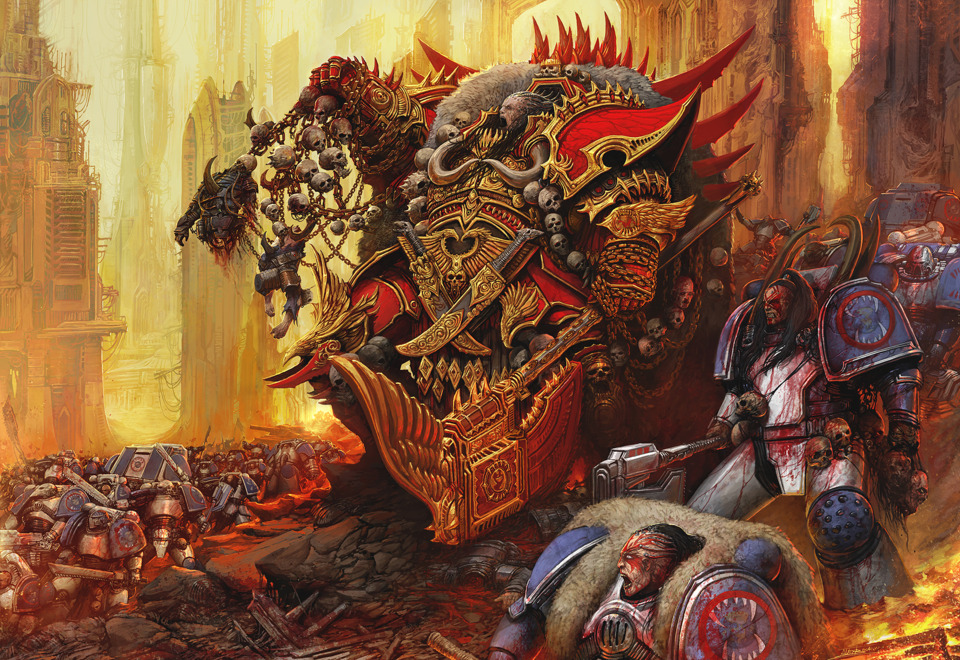 Blood for the Blood God. Skulls for the Skull Throne.