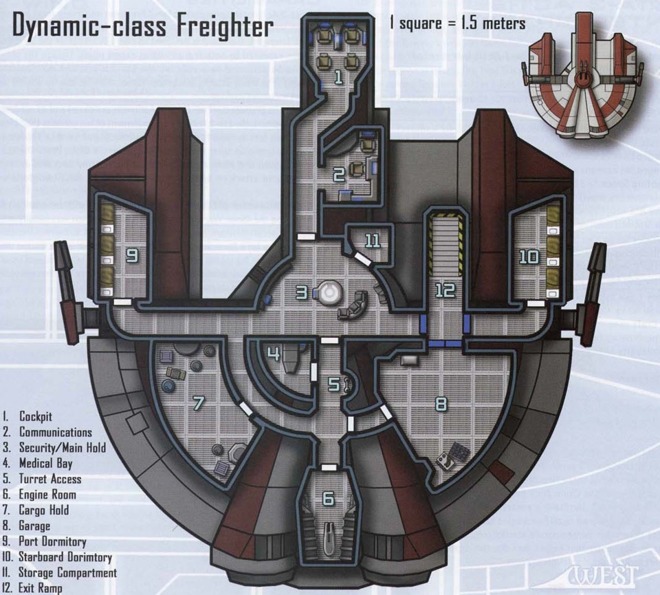 Ebon Hawk's schematics