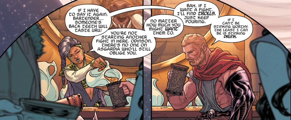 There's the god who saved all deities in existence and ended Ragnarok! Yep, definitely the same guy...