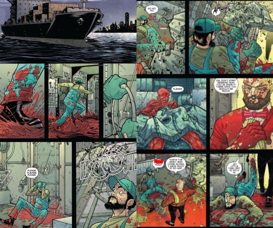 Strange Talent of Strode Issue #1 Page #19-20
