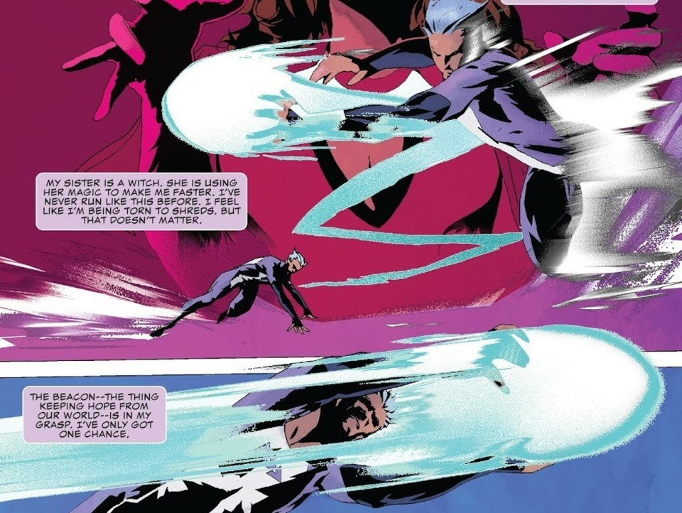 Quicksilver: No Surrender issue #1