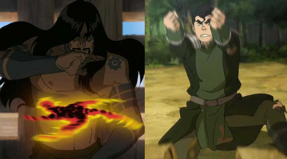 Lavabending: Ghazan and Bolin